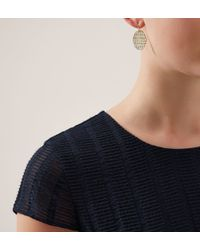 Hobbs | Metallic Polly Earring | Lyst