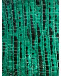 Christian Louboutin - Green Paros Bi-Fold Lizard Wallet for Men - Lyst