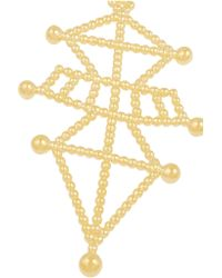 Arme De L'Amour - Metallic Symbiotic Sphere Gold-plated Necklace - Lyst