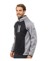 Under Armour | Black Ua Coldgear Infrared Werewolf Hooded Jacket for Men | Lyst