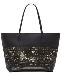 Vince Camuto | Black Lila Tote | Lyst