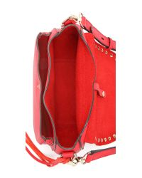 Rebecca Minkoff - Red Unlined Saddle Bag - Lyst