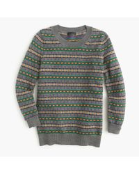 J.Crew | Multicolor Tippi Sweater In Fair Isle | Lyst