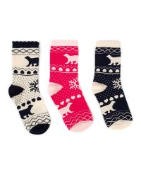 Ted Baker | Multicolor Robyn Polar Bear Print Gift Socks | Lyst