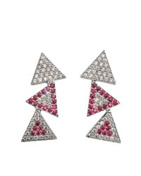Joanna Laura Constantine | Multicolor Earcuffs Americana Earrings | Lyst