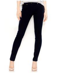 Maison Jules - Blue Sophie Skinny-Leg Pants - Lyst