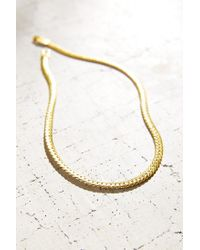 Urban Outfitters | Metallic Chain Choker Necklace | Lyst