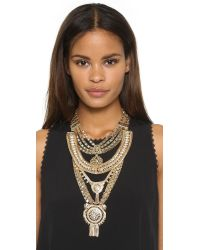 Samantha Wills - Metallic The Grand Necklace - Shiny Gold - Lyst