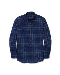 Polo Ralph Lauren | Blue Slim-fit Plaid Twill Shirt for Men | Lyst