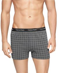 Calvin Klein | Black Slim Fit Knit Boxer Shorts for Men | Lyst