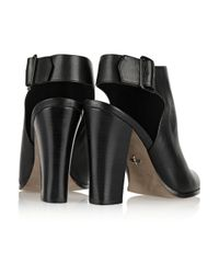 Pour La Victoire - Black Zuri Leather Ankle Boots - Lyst