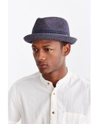 Bailey of Hollywood | Blue Vito Fedora Hat for Men | Lyst