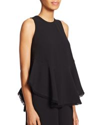 Elizabeth and James | Black Merlyn Top | Lyst