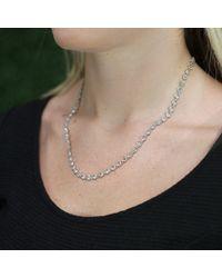 Irene Neuwirth - Metallic Rose Cut Diamond Chain Necklace - Lyst