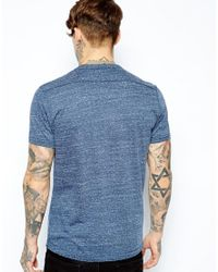 DIESEL | Blue T-kalar-dots for Men | Lyst