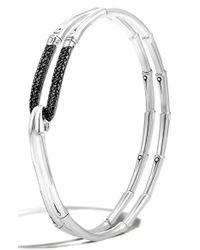 John Hardy - Metallic 'bamboo - Lava' Hook Bracelet - Lyst