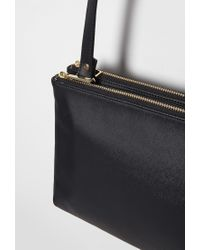 Forever 21 - Black Faux Leather Dual Crossbody You've Been Added To The Waitlist - Lyst