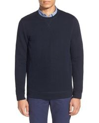 Ted Baker | Blue 'deabloe' Extra Trim Fit Chevron Sweater for Men | Lyst