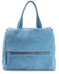Givenchy - Blue Pandora Box Shoulder Bag - Lyst