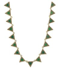 House of Harlow 1960 - Green Native Legends Collar Necklace - Lyst