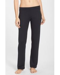Joe's Jeans - Black 'cara' Thermal Yoga Pants - Lyst