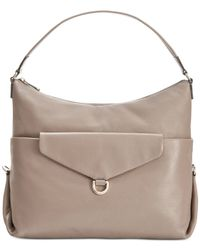 DKNY | Natural Crosby Hobo | Lyst