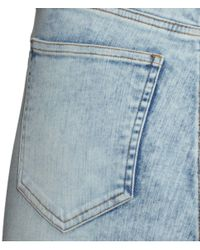 H&M | Blue Skinny High Jeans | Lyst