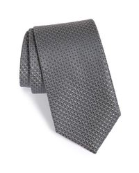 John W. Nordstrom - Gray 'terrano' Geometric Silk Tie for Men - Lyst