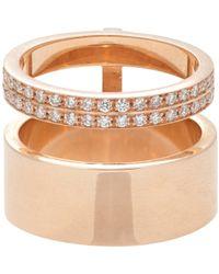 Repossi - Metallic Women's Berbere Module Midi Ring - Lyst