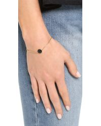 Marc By Marc Jacobs | Pave Disc Bracelet - Black/oro | Lyst