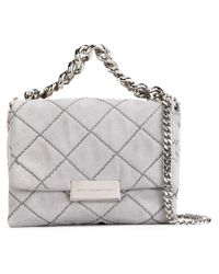 Stella McCartney | Gray 'beckett' Shoulder Bag | Lyst
