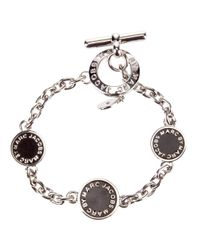 Marc By Marc Jacobs | Metallic Toggle Charm Bracelet | Lyst