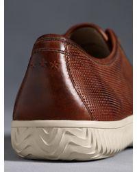 John Varvatos - Brown Hattan Low Top Sneaker for Men - Lyst