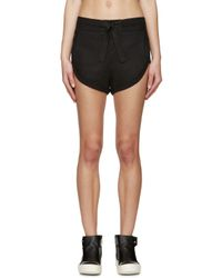 Denis Gagnon | Ssense Exclusive Black Linen Shorts | Lyst