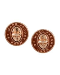 Marc By Marc Jacobs - Brown Earrings - Lyst