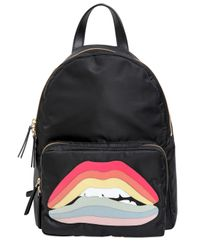 RED Valentino - Red Rainbow Lips Patch Backpack - Lyst
