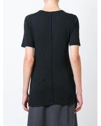 Silent - Damir Doma - Black 'theros' T-shirt - Lyst