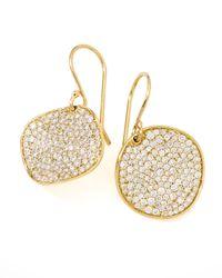 Ippolita | Multicolor Stardust Round Diamond Pave Drop Earrings | Lyst