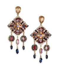 Erickson Beamon | Metallic Happily Ever After Drop Earrings | Lyst
