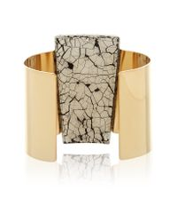 Isabel Marant - Metallic Gold-plated Resin Cuff - Lyst