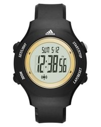 Adidas Originals | Black 'yur' Digital Watch | Lyst