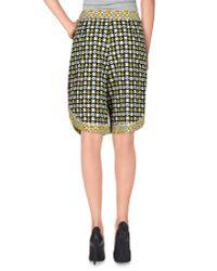 See By Chloé - Black Bermuda Shorts - Lyst