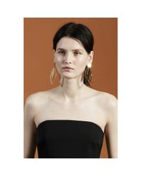 Stella McCartney - Metallic Clip-on Earrings - Lyst