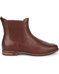 UGG - Brown Joey Leather Boots - Lyst