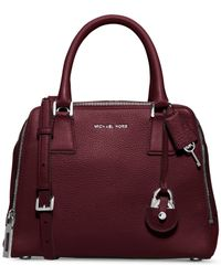 Michael Kors | Purple Michael Zoey Medium Satchel | Lyst