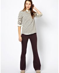 M.i.h Jeans - Purple The Casablanca Trouser In Shadow - Lyst