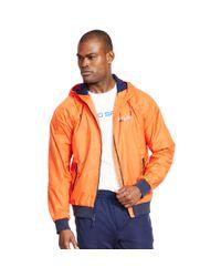 Ralph Lauren - Orange Solid Full-zip Jacket for Men - Lyst
