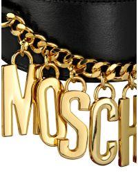 Moschino | Black Belt | Lyst