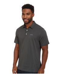 Patagonia - Gray Trout Fitz Roy Polo for Men - Lyst