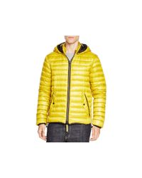 Duvetica | Yellow Troilo Hooded Down Jacket for Men | Lyst